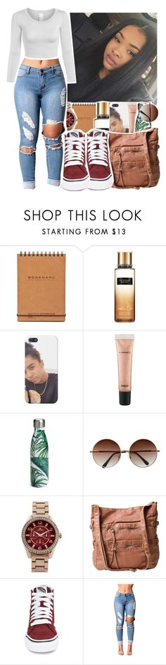 """Like to be on my tag list!!!"" by eniola29 ❤ liked on Polyvore featuring Victoria's Secret, MAC Cosmetics, S'well, Louis Arden and Vans"