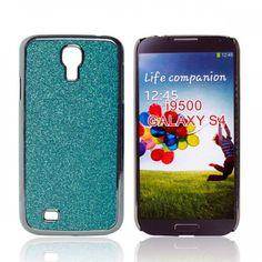 Blue Flash Powder Phone Hard Case for Samsung Galaxy S4 IV i9500 - Aulola Online Store $1.84