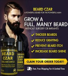 Beard Czar Beard Oil - Best Beard Trimmer, Care, Growth, Balm Beard Czar Beard Oil is Wonderful. This stuff smells wonderful, lasts all day & does Wonders for your Beard! beard growth oil on the market Just for Men. Growing Facial Hair, Facial Hair Growth, Beard Growth Oil, Beard Oil Review, Growing A Full Beard, Best Beard Oil, Thick Beard, Hair Vitamins, Just For Men