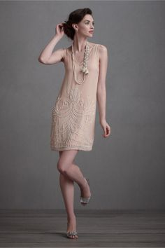 I just watched Midnight in Paris...what a fun fantasy.  This dress is so perfect for martinis with Hemingway!