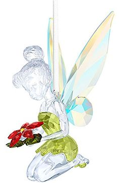 Swarovski Disney Christmas Ornament Tinker Bell - 5135893 for sale online Swarovski Christmas Ornaments, Disney Christmas Ornaments, Christmas Bells, Glass Ornaments, Crochet Christmas, Christmas Angels, Christmas Holiday, Swarovski Crystal Figurines, Swarovski Jewelry