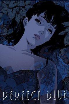 Manga Art, Manga Anime, Anime Art, Aesthetic Art, Aesthetic Anime, Satoshi Kon, Wall Prints, Poster Prints, Blue Anime