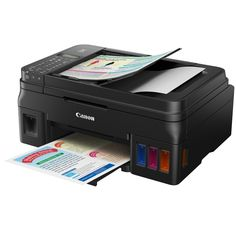 Canon Introduces Refillable Ink Tank Printer PIXMA G4000