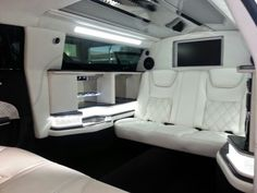 Maybach style chrysler limo by american limousine sales