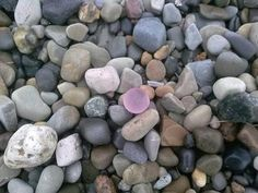 Beach Glass Marble Beauty: ~sea glass photo submittedbyJeanne Kollecker, Chardon, Ohio   Where was this photo taken? Along the shores of Lake Erie, Ohio Date, time of