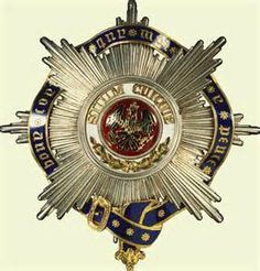 Order of the Black Eagle (Prussia). George V's breast star.