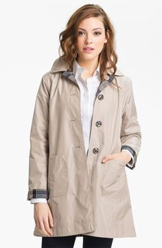 Free shipping and returns on Barbour 'Derby Mackintosh' Reversible Raincoat at Nordstrom.com. A simple A-line raincoat is like two coats in one, with a breathable, waterproof shell that reverses from classic khaki to a signature tartan plaid.