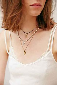 Triple Delicate Necklace - Urban Outfitters