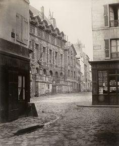 Rue de l'Abbaye, c. 1867 | Vergue