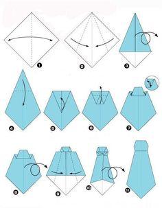 Открытка рубашка техника