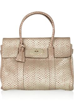 Mulberry Bayswater in Gold