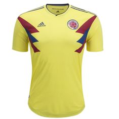 ef257c11c0b Colombia National Team Jersey Home-FIFA WC 2018 - sportifynow Colombia  Soccer