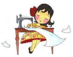 dando forma a um sonho...... #sewing #cute #illustration