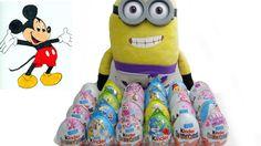 24 Disneys surprise eggs, kinder surprise , Surprise toy, Kinder eggs an...