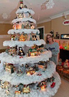 As árvores de Natal tradicionais trazem um estilo de decoração conhecido por muitos. Mas há algumas possibilidades um tanto criativas para mudar isso.