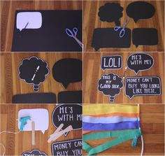 The Lovely Cupboard: DIY: Photo Backdrop Hmm...first day of school idea???