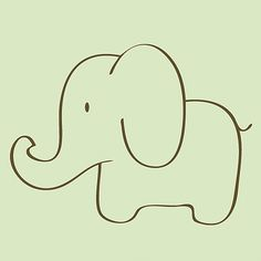 Easy elephant drawing cute doodles, simple doodles, cool drawings, animal d Easy Elephant Drawing, Elephant Sketch, Elephant Doodle, Simple Elephant Tattoo, Elephant Outline, Elephant Quilt, Elephant Pattern, Drawn Art, Cute Doodles