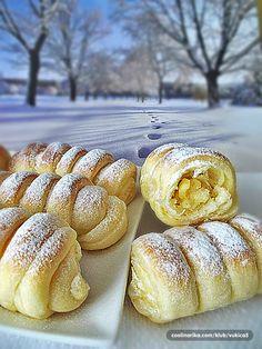 Kremaste pariške vanilin kiflice