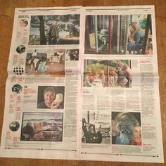 Center spread of The News Tribune Feb. 7, 2016