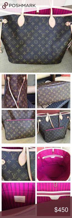 Louis Vuitton bag Nice authentic Louis Vuitton bag Louis Vuitton Bags Shoulder Bags