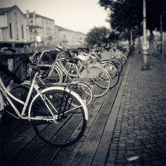 bokeh and bikes