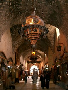 Syria-Aleppo -Originally pinned by Katerina Caristan onto Islamic style and architecture.