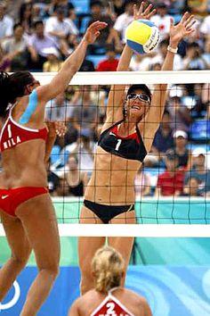 Great Block beach volleyball