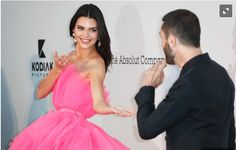 Kendall Jenner, the half-sister of the famous Sisters Kardashian, has always been carefully concealed his love life.However, American media say that Kendall after the NBA The Half Sisters, Famous Sisters, Love And Basketball, Basketball Players, Prom Dresses, Formal Dresses, Kendall Jenner, Celebrity News, Kardashian