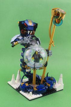 Ninjago Lego Sets, Lego Ninjago Minifigures, Lego Mecha, Lego Bionicle, Legos, Lego Creative, Creative Ideas, Lego Universe, Lego Bots