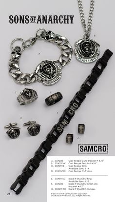 Online Shop Free shippingSons of Anarchy Mens Rings There are two