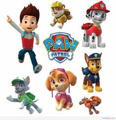 paw patrol character printables