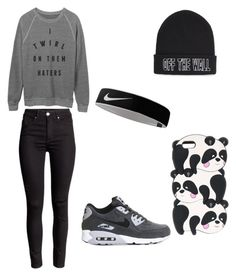 """Untitled #47"" by sara-carvalho-i ❤ liked on Polyvore featuring NIKE and Vans"