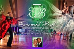 It's Emerald Ball Time! April 28th - May 3rd, 2015. Get all your info at www.EmeraldBall.com