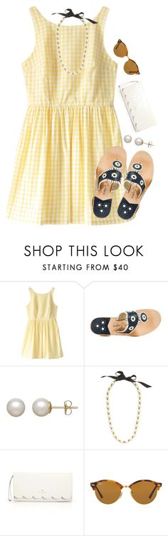 """""""feels like summer  im going to italy!"""" by preppy-ginger-girl on Polyvore featuring Retrò, Jack Rogers, Honora, J.Crew, Kate Spade and Ray-Ban"""