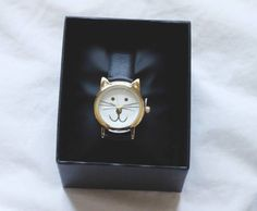 Cutest watch in the world ♥ #cat #kitty #love #it #cute #watch