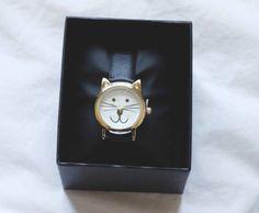 Cutest watch in the world ♥ #cat #kitty #love #it #cute #watch