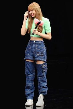 Blackpink Outfits, Kpop Fashion Outfits, Stage Outfits, Retro Outfits, Cute Casual Outfits, Korean Outfit Street Styles, Korean Outfits, Blackpink Fashion, Korean Fashion