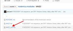 Biblioteca DHT22 Lua