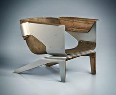 """Q lounge chair"" by Ismet Cevik."