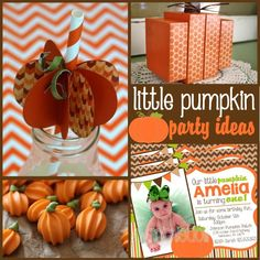 Pumpkin Party: Pumpkin Party Ideas and Crafts - Mimi's Dollhouse