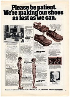 ...earth shoes..?