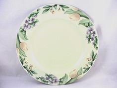 "Pfaltzgraff GARDEN PARTY Dinner Plate 10.5"" USA #Pfaltzgraff #PfaltzgraffUSA"