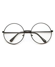 abe719d61e821a Cette paire de lunettes rondes sont au top de la tendance ! Déjà il y a 40  ans, le célèbre John Lennon les portaient.Evidemment, celles-ci sont sans  ...