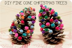 Easy Christmas tree craft for children