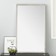 Found it at AllModern - Ewell Angle Frame Wall Mirror
