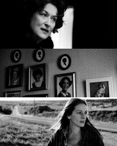 August Osage County (2013) great cast including Meryl Streep, Julia Roberts, Juliette Lewis, Ewan McGregor, Dermot Mulroney, Benedict Cumberbatch, Abigail Breslin etc.
