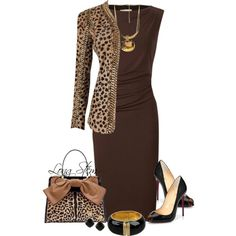 A fashion look from August 2014 featuring Planet dresses, Balmain jackets and Christian Louboutin pumps. Browse and shop related looks.