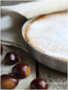 torta di castagne - chestnut cake