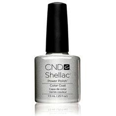 CND Shellac Uv Color Coat, Silver Chrome, 0.25 Fluid Ounce for $11.76