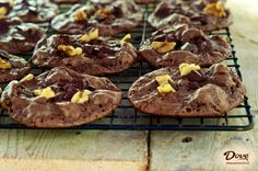 Holiday cookie recipe: Christmas Chocolate Drops, made with DOVE.